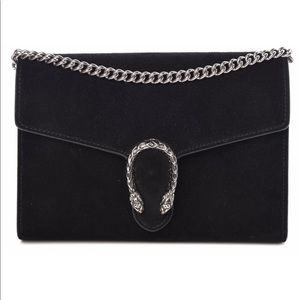 Gucci Dionysus Wallet on Chain - Suede